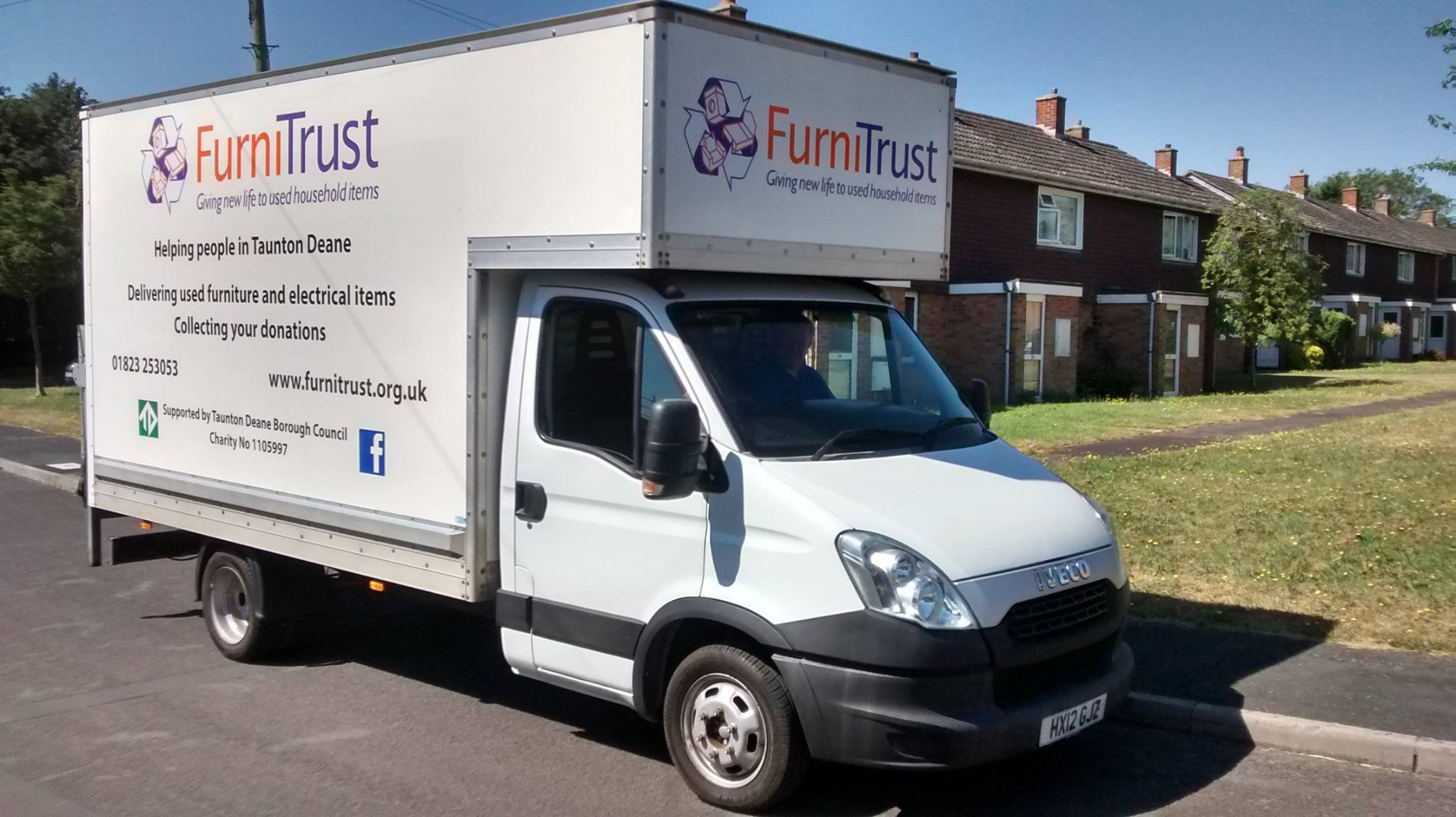 The FurniTrust van