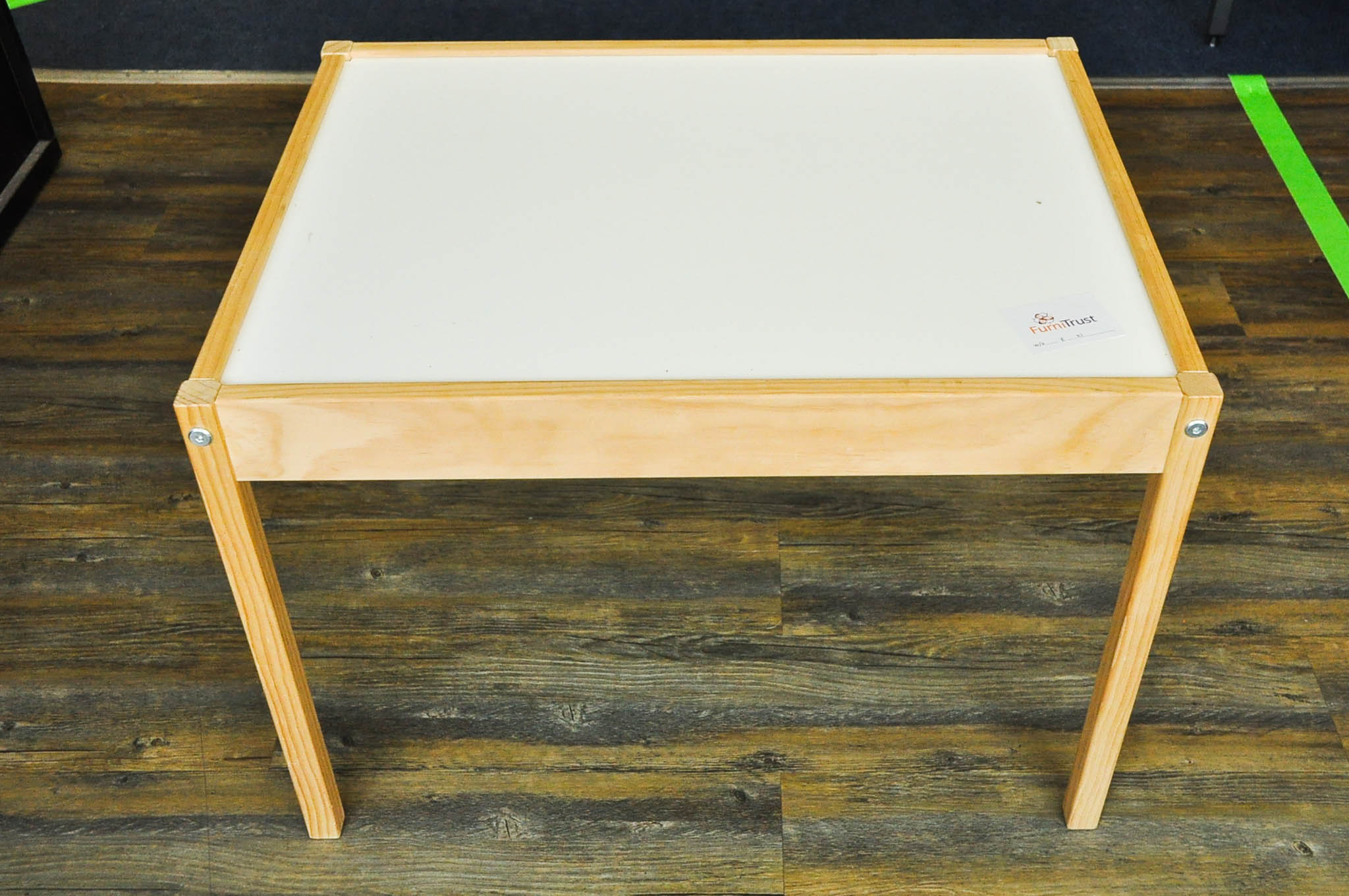 Ikea childs desk, 49cm deep x 64cm wide x 46cm tall