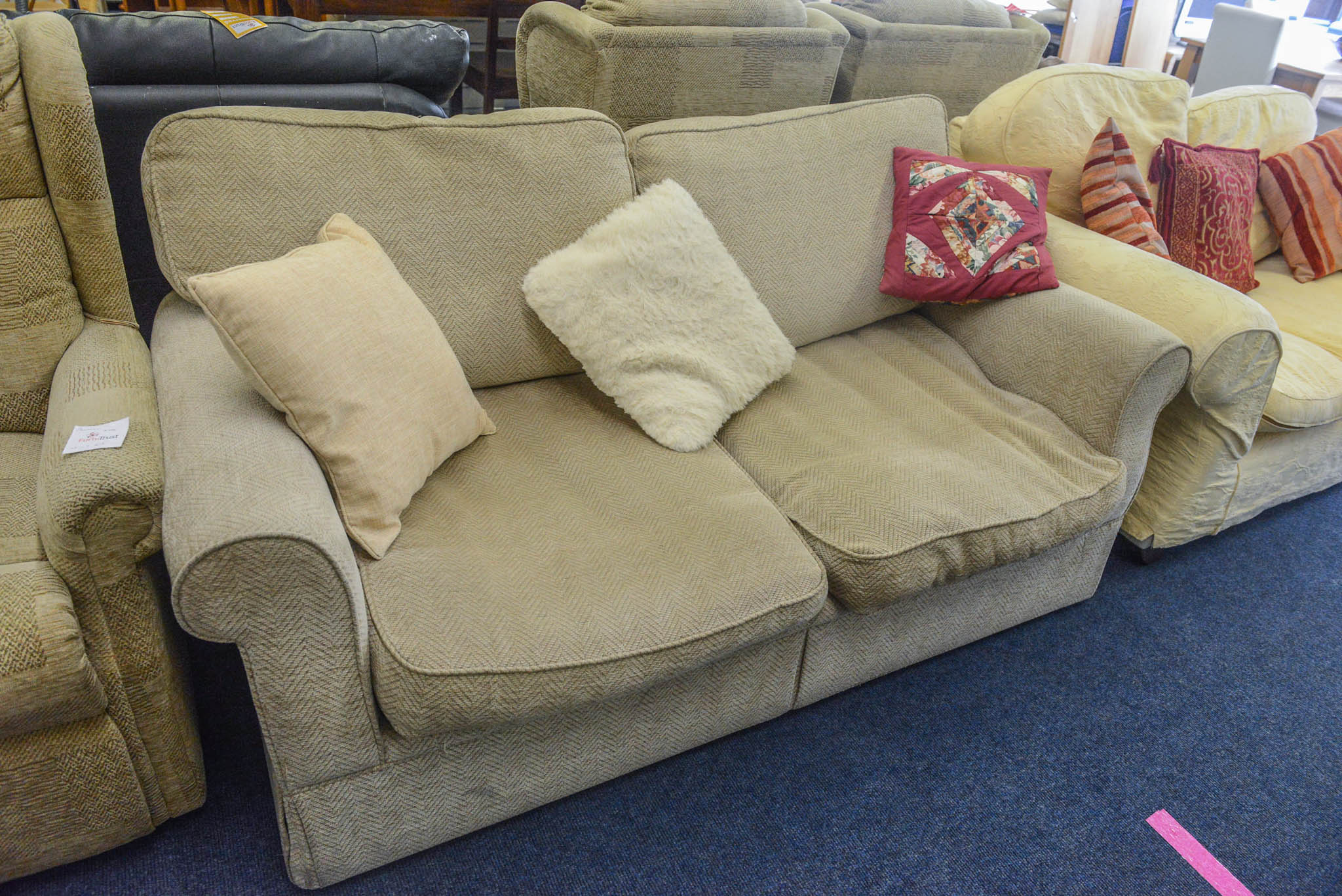 Marks & Spencers two seater sofa bed. 
