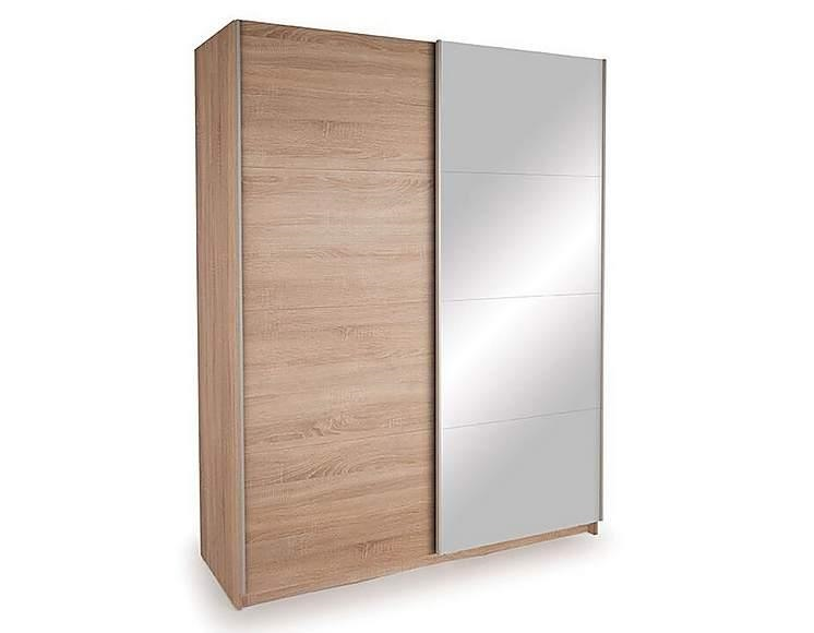 Large wardrobe with sliding mirrored door. Currently flat-packed. Assembly service available for £20. 