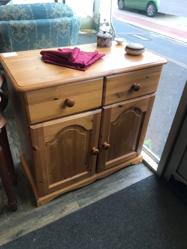 Light pine sideboard / cupboard in very good condition